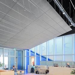 Expanded Metal Ceilings | S7 Rhombos Rail Channel System | Falsos techos | durlum