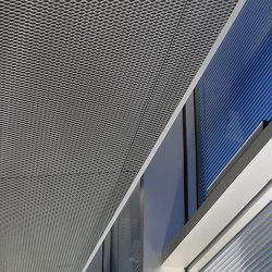 Expanded Metal Ceilings | S10H Rhombos Double-Hook System | Falsos techos | durlum
