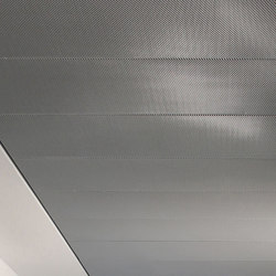 Expanded Metal Ceilings | FS4.6 Br Rhombos Lay-On/ Pin-Locking System, Hinged/ Movable | Suspended ceilings | durlum