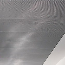 Expanded Metal Ceilings | FS4.2 Rhombos And Fs4.5 Rhombos Hook-On Systems | Suspended ceilings | durlum