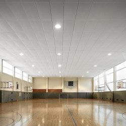 Functional Ceilings | S7 Rhombos Taifun Rail Channel System | Suspended ceilings | durlum