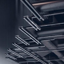 Functional Ceilings | dur-Sonic Tube Broadband Absorber | Acoustic ceiling systems | durlum