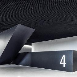 Open Cell Ceilings | Quadra | Falsos techos | durlum