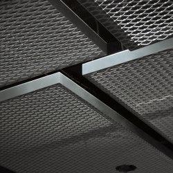 Raft Ceilings | dur-Solo Rhombos Raft Ceiling Type 1&2 | Paneles de techo | durlum