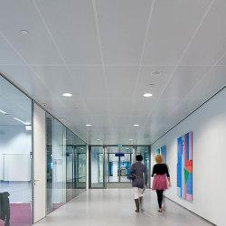 Rectangular Metal Panels | S4 Hook-On System | Suspended ceilings | durlum