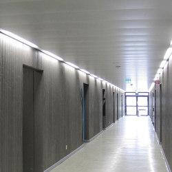 Langfeldplatten | FS-Omega Lichtkanalsystem | Abgehängte Decken | durlum