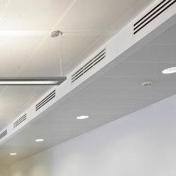 Rectangular Metal Panels | FS4.4 As Attachement/ Hook System | Suspended ceilings | durlum