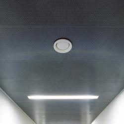 Rectangular Metal Panels | FS5.2 Fh Attachement System With Gypsum Board | Falsos techos | durlum