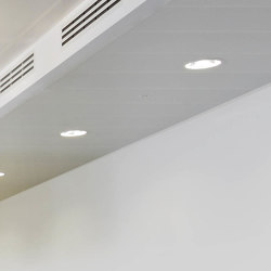 Rectangular Metal Panels | FS4.6 Br Attachment Bolt-And-Latch System | Suspended ceilings | durlum