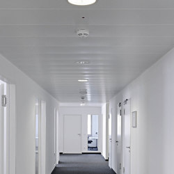 Rectangular Metal Panels | FF2025 And FF025 Lay-In Systems | Suspended ceilings | durlum