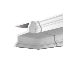 Facade mouldings - Internal Angle Joint Element Profhome Decor 401123 | Facade | e-Delux