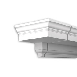 Facade mouldings - End Element Profhome Decor 401131 | Facade | e-Delux