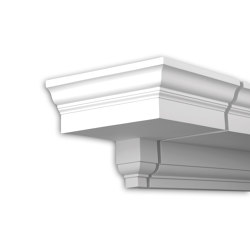 Facade mouldings - End Element Profhome Decor 401133 | Facade | e-Delux