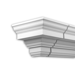 Facade mouldings - External Angle Joint Element Profhome Decor 401211 | Facade | e-Delux