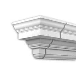 Facade mouldings - End Element Profhome Decor 401231 | Facade | e-Delux