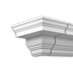 Facade mouldings - External Angle Joint Element Profhome Decor 401311 | Facade | e-Delux