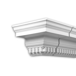 Facade mouldings - External Angle Joint Element Profhome Decor 401312 | Facade | e-Delux