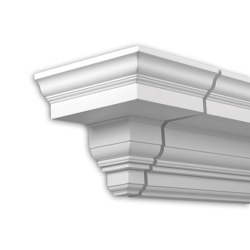 Facade mouldings - End Element Profhome Decor 401331 | Facade | e-Delux