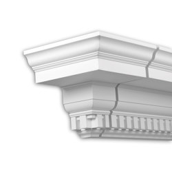 Facade mouldings - End Element Profhome Decor 401332 | Facade | e-Delux