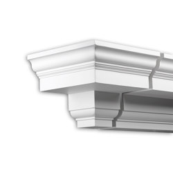 Facade mouldings - End Element Profhome Decor 402131 | Facade | e-Delux