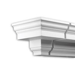 Facade mouldings - Cornice Profhome Decor 402201 | Facade | e-Delux