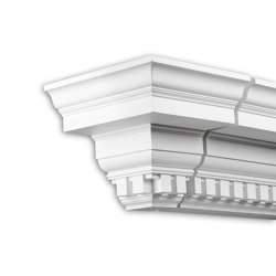 Facade mouldings - End Element Profhome Decor 402331 | Facade | e-Delux