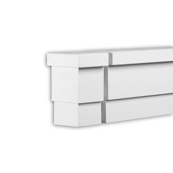 Facade mouldings - End Element Profhome Decor 404132 | Facade | e-Delux