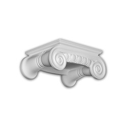 Facade mouldings - Column Capital Profhome Decor 411202 | Facade | e-Delux