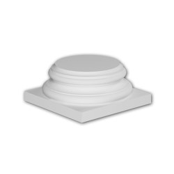 Facade mouldings - Full column segment Profhome Decor 413002 | Facade | e-Delux