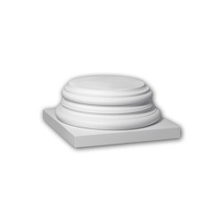 Facade mouldings - Full column segment Profhome Decor 413301 | Facade | e-Delux
