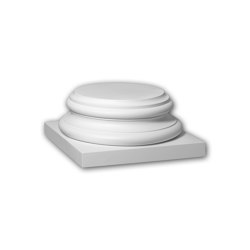 Facade mouldings - Full column segment Profhome Decor 413302 | Facade | e-Delux