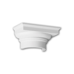 Facade mouldings - Half Column Capital Profhome Decor 415101 | Facade | e-Delux
