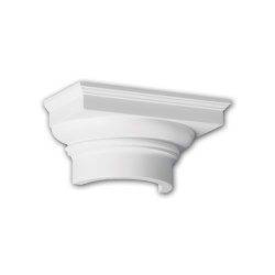 Facade mouldings - Half Column Capital Profhome Decor 415102 | Facade | e-Delux