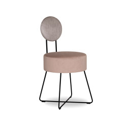 Lotta Stool with Backrest | Chairs | Bielefelder Werkstaetten