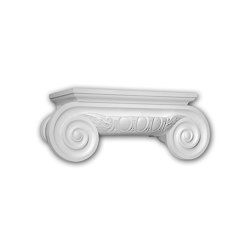 Facade mouldings - Half Column Capital Profhome Decor 415201 | Facade | e-Delux