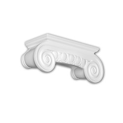 Facade mouldings - Half Column Capital Profhome Decor 415202 | Facade | e-Delux