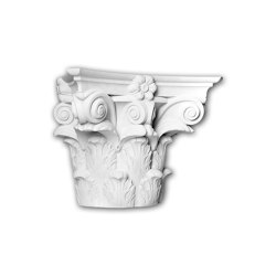 Facade mouldings - Half Column Capital Profhome Decor 415301 | Facade | e-Delux
