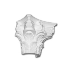 Facade mouldings - Half Column Capital Profhome Decor 415302 | Facade | e-Delux