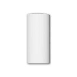 Facade mouldings - Half column segment Profhome Decor 416002 | Facade | e-Delux