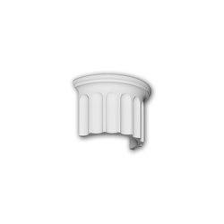 Facade mouldings - Half column segment Profhome Decor 416003 | Facade | e-Delux