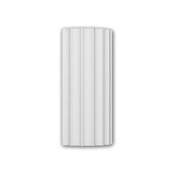 Facade mouldings - Half column segment Profhome Decor 416004 | Facade | e-Delux