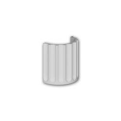 Facade mouldings - Half column segment Profhome Decor 416005 | Facade | e-Delux