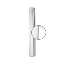 Facade mouldings - Half Column Shaft Profhome Decor 416102 | Facade | e-Delux