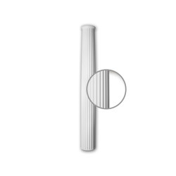 Facade mouldings - Half Column Shaft Profhome Decor 416201 | Facade | e-Delux
