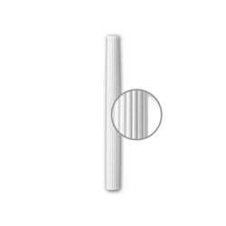 Facade mouldings - Half Column Shaft Profhome Decor 416301 | Facade | e-Delux