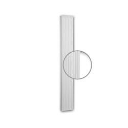 Facade mouldings - Pilaster Schaft Profhome Decor 422101 | Facade | e-Delux