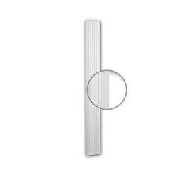 Facade mouldings - Pilaster Schaft Profhome Decor 422201 | Facade | e-Delux