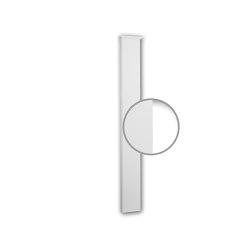 Facade mouldings - Pilaster Schaft Profhome Decor 422302 | Facade | e-Delux