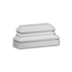 Facade mouldings - Pilaster Base Profhome Decor 423301 | Facade | e-Delux