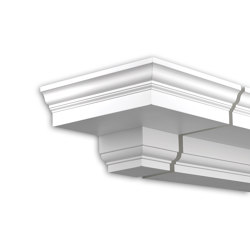 Facade mouldings - End Element Profhome Decor 431131 | Facade | e-Delux